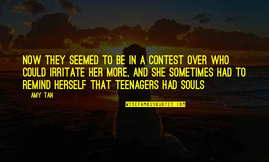 Bible Damascus Quotes By Amy Tan: Now they seemed to be in a contest