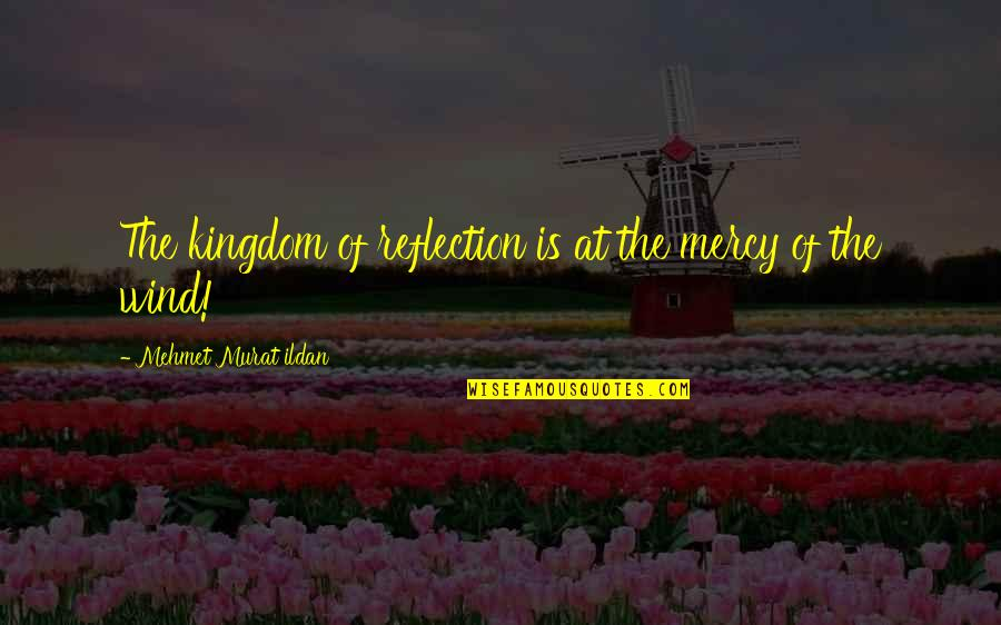 Bida Sa Kalokohan Quotes By Mehmet Murat Ildan: The kingdom of reflection is at the mercy