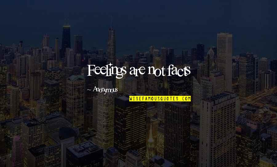 Bigcharts Stock Quotes By Anonymous: Feelings are not facts