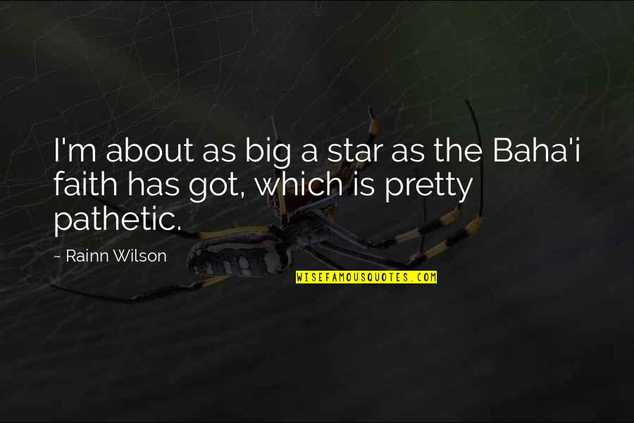 Black Doug Hangover 3 Quotes By Rainn Wilson: I'm about as big a star as the
