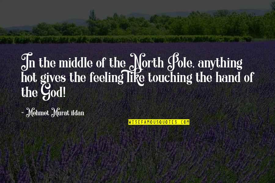 Blatant Disregard Quotes By Mehmet Murat Ildan: In the middle of the North Pole, anything