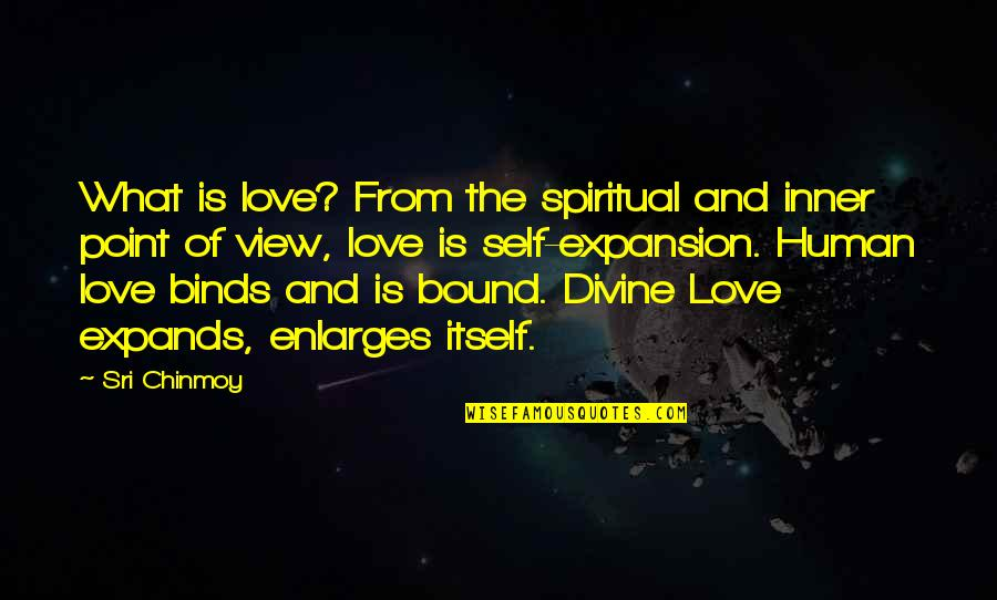 Bound In Love Quotes By Sri Chinmoy: What is love? From the spiritual and inner