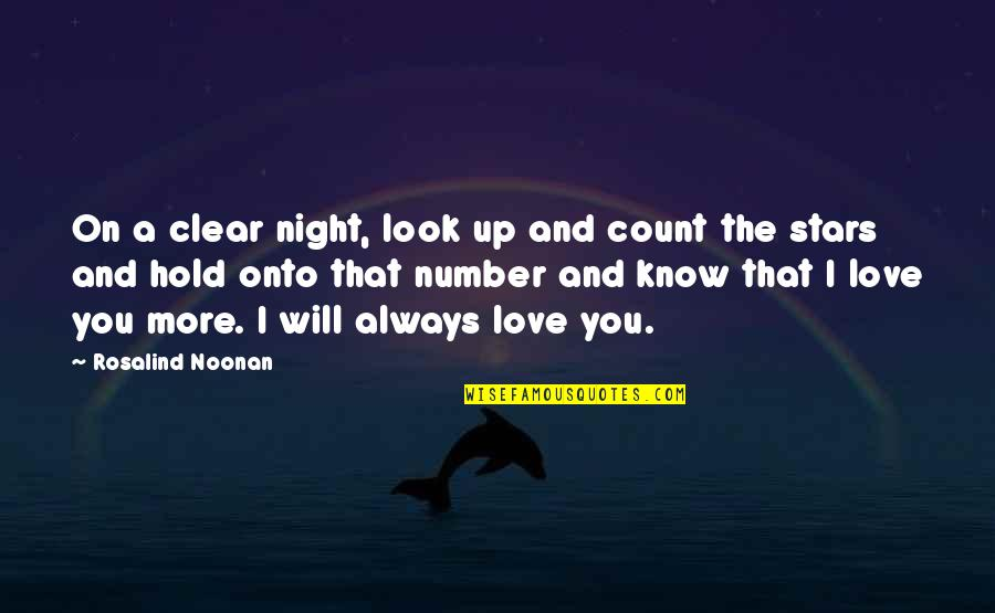 Brad Marchand Quotes By Rosalind Noonan: On a clear night, look up and count
