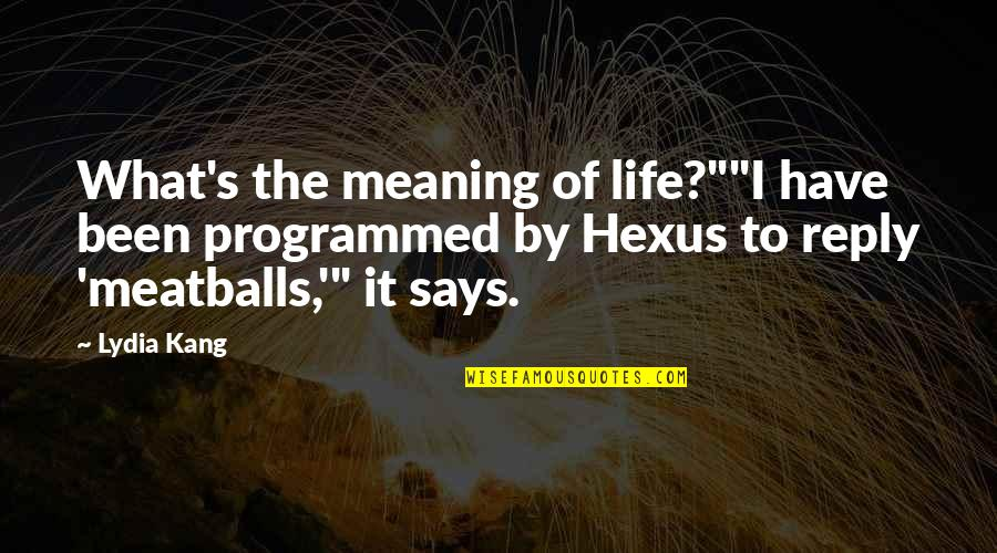 """Bray Wyatt Quotes By Lydia Kang: What's the meaning of life?""""""""I have been programmed"""