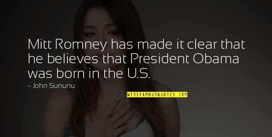 Breaking Bad Season 5 Premiere Quotes By John Sununu: Mitt Romney has made it clear that he