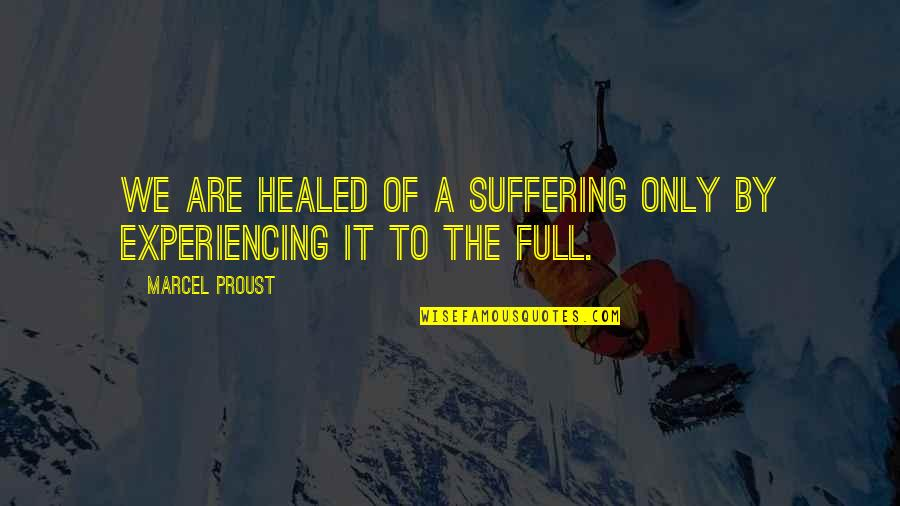 Breaking Bad Season 5 Premiere Quotes By Marcel Proust: We are healed of a suffering only by