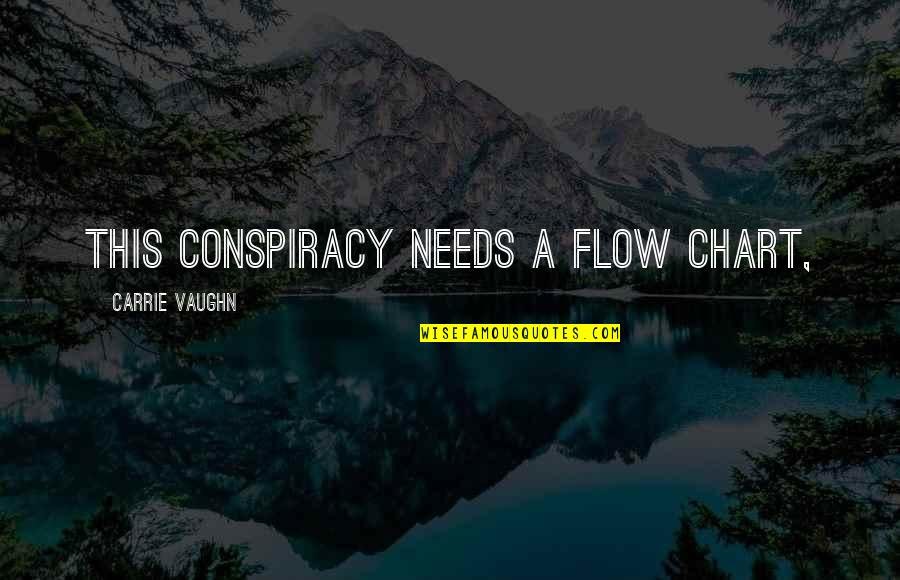 Bringing A Baby Into The World Quotes By Carrie Vaughn: This conspiracy needs a flow chart,