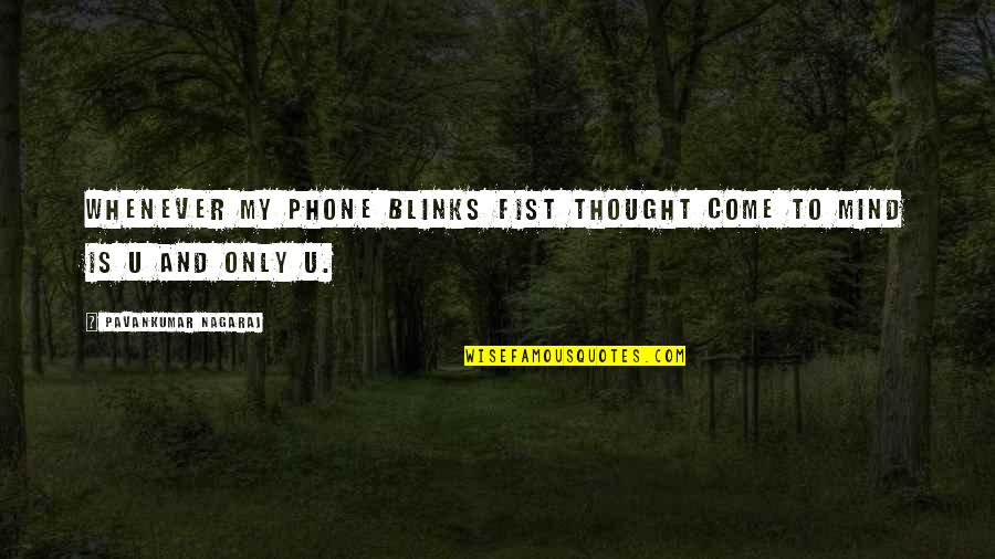 Broken Heart With Sad Quotes By Pavankumar Nagaraj: Whenever my phone blinks fist thought come to
