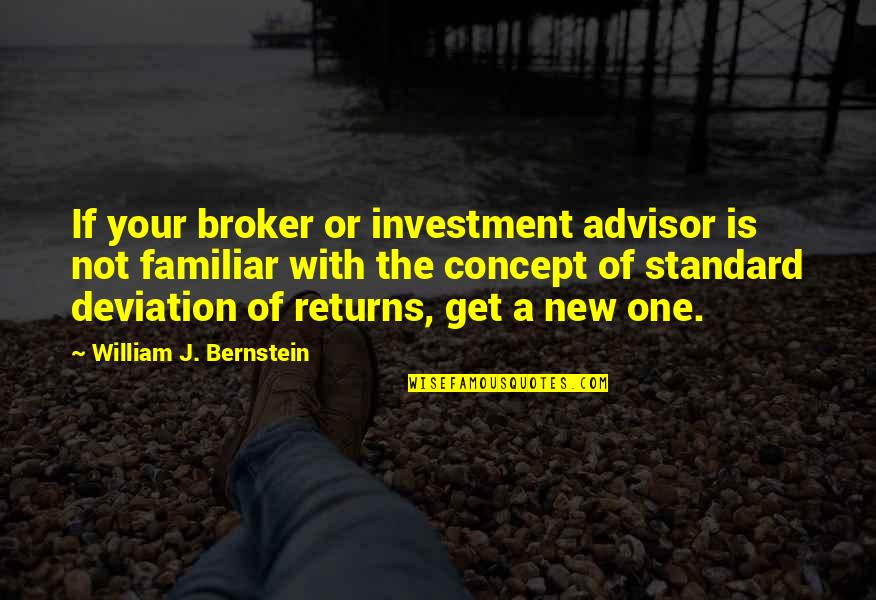 Broker Than Quotes By William J. Bernstein: If your broker or investment advisor is not