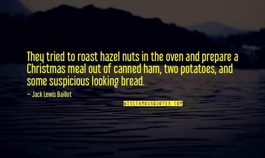 Brothers And Best Friends Quotes By Jack Lewis Baillot: They tried to roast hazel nuts in the
