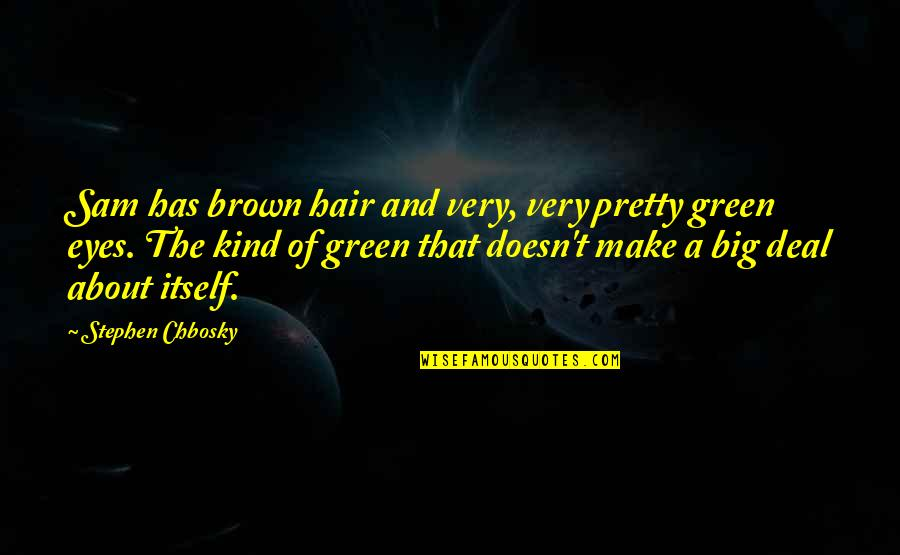 Brown And Green Eyes Quotes: top 7 famous quotes about Brown ...
