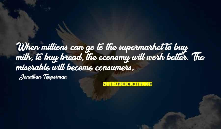 Bulk Insert Remove Quotes By Jonathan Tepperman: When millions can go to the supermarket to