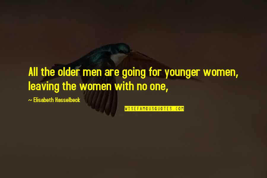 Business Electricity Price Quotes By Elisabeth Hasselbeck: All the older men are going for younger