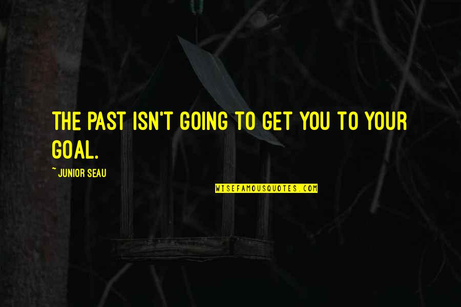 Bustopher Quotes By Junior Seau: The past isn't going to get you to