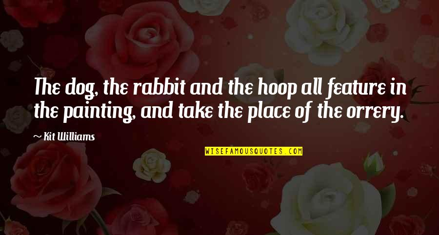 Byul Quotes By Kit Williams: The dog, the rabbit and the hoop all