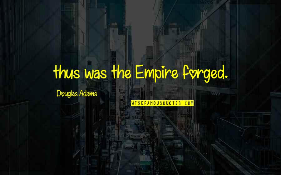 C# Parse Csv Double Quotes By Douglas Adams: thus was the Empire forged.
