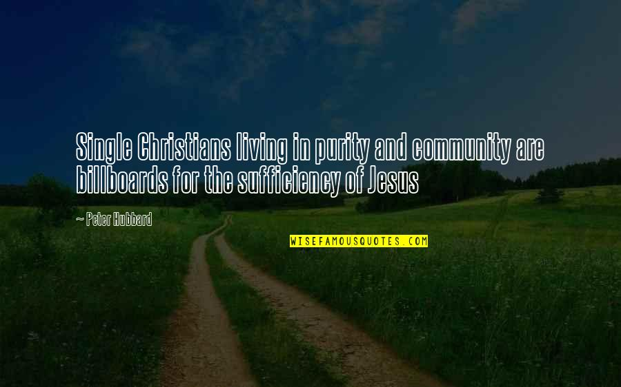 C Single Quotes By Peter Hubbard: Single Christians living in purity and community are