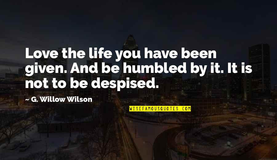 Cairo's Quotes By G. Willow Wilson: Love the life you have been given. And