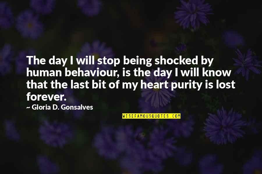 Cameron Monaghan Quotes By Gloria D. Gonsalves: The day I will stop being shocked by