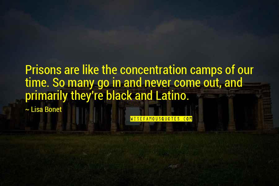 Camps Quotes By Lisa Bonet: Prisons are like the concentration camps of our