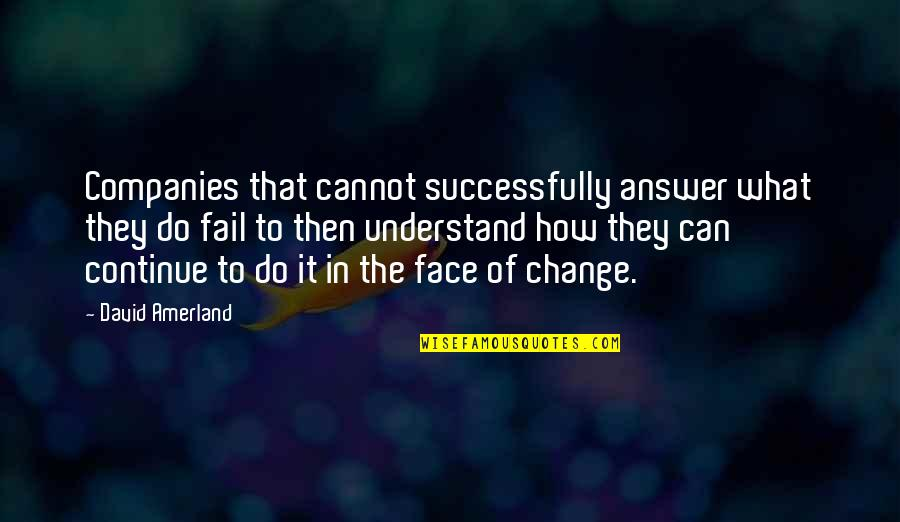 Cannot Understand Quotes By David Amerland: Companies that cannot successfully answer what they do