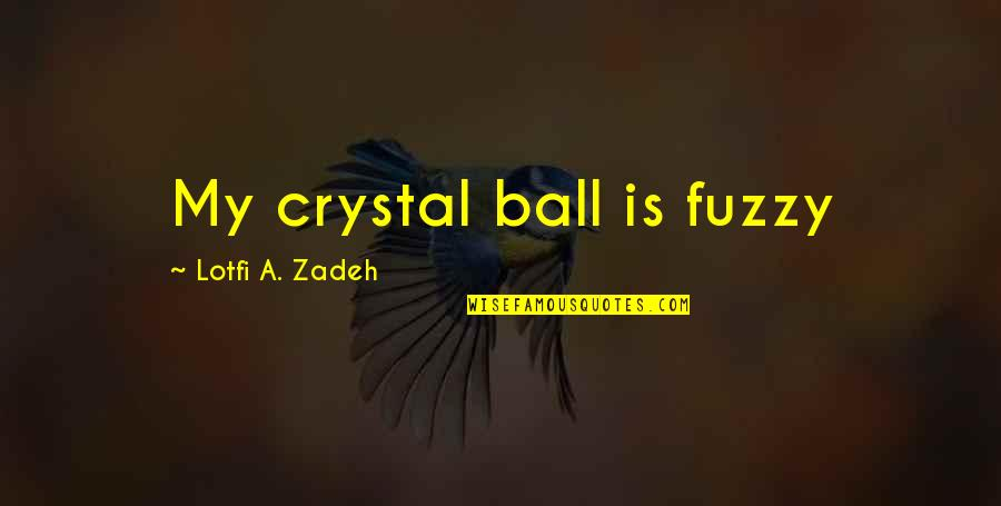 Capitalizing Titles In Quotes By Lotfi A. Zadeh: My crystal ball is fuzzy