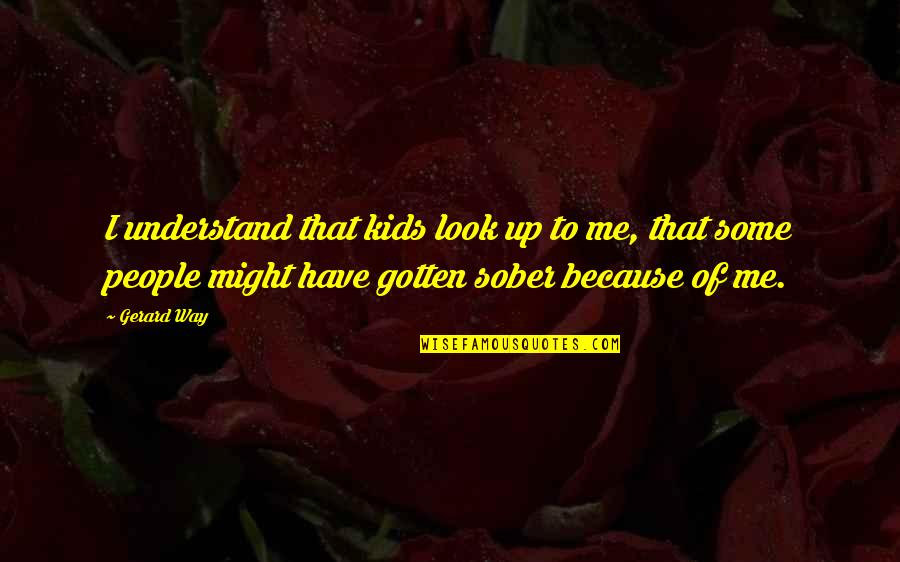 Car Repair Instant Quotes By Gerard Way: I understand that kids look up to me,