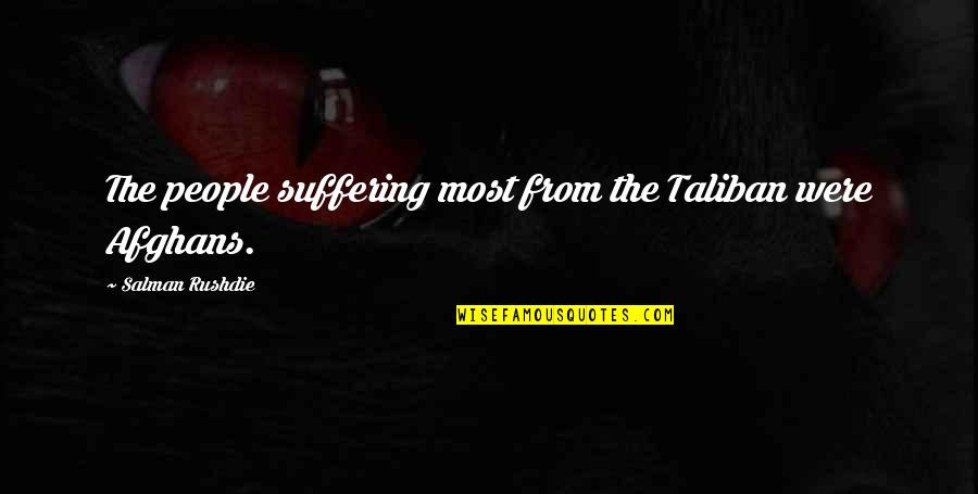 Car Repair Instant Quotes By Salman Rushdie: The people suffering most from the Taliban were