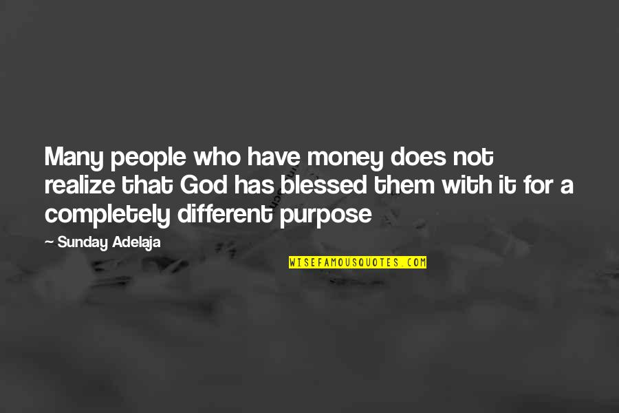 Catfish Tv Show Quotes By Sunday Adelaja: Many people who have money does not realize