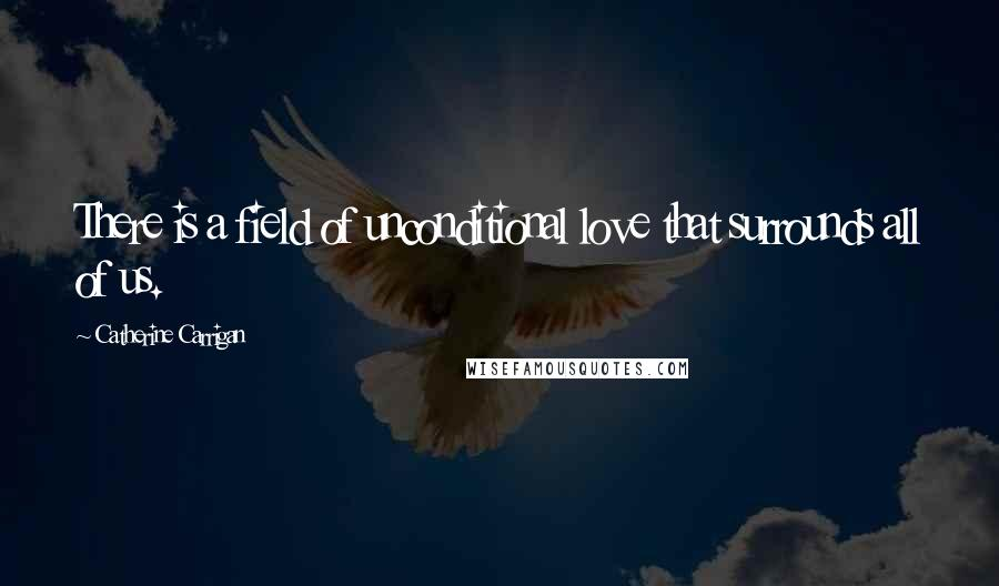 Catherine Carrigan quotes: There is a field of unconditional love that surrounds all of us.