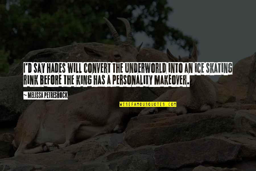 Celebrating Black History Month Quotes By Melissa Petreshock: I'd say Hades will convert the Underworld into