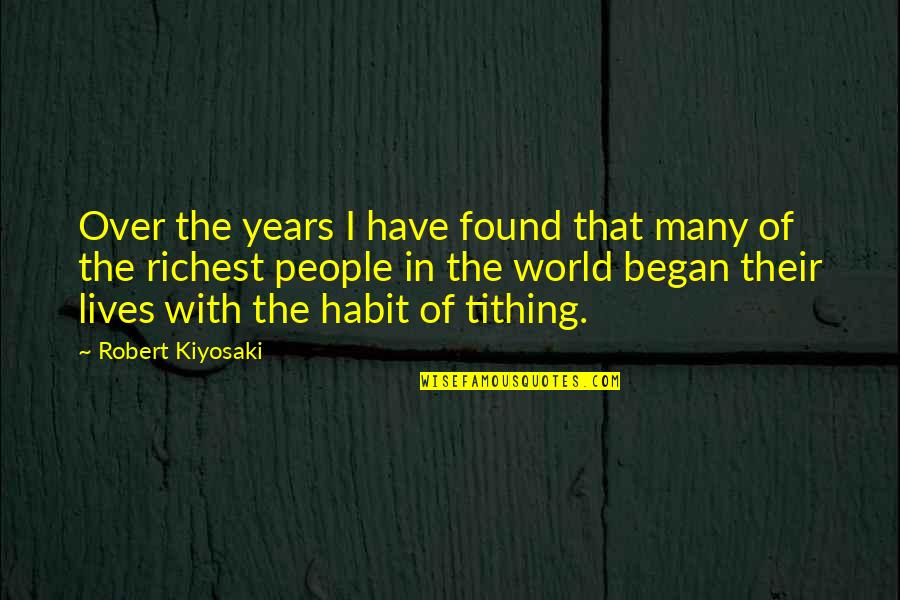 Change In People Quotes By Robert Kiyosaki: Over the years I have found that many