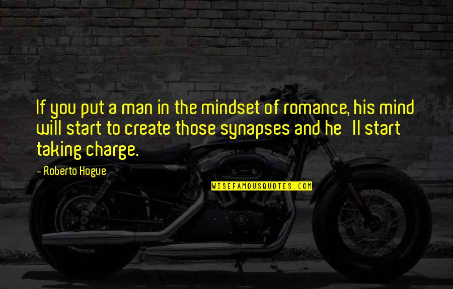 Change Mindset Quotes By Roberto Hogue: If you put a man in the mindset