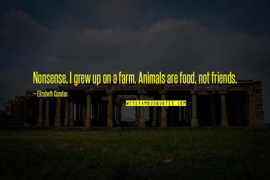 Cheap Nj Insurance Quotes By Elizabeth Camden: Nonsense, I grew up on a farm. Animals