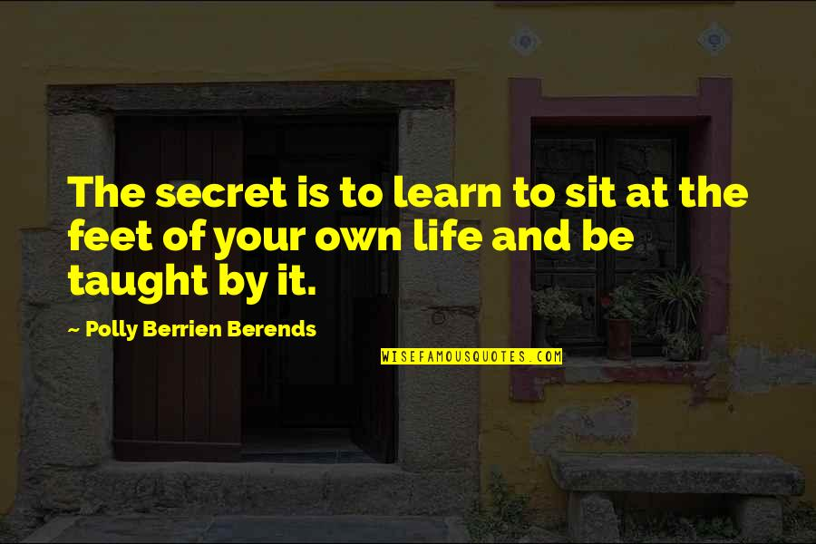 Cheap Parcel Quotes By Polly Berrien Berends: The secret is to learn to sit at