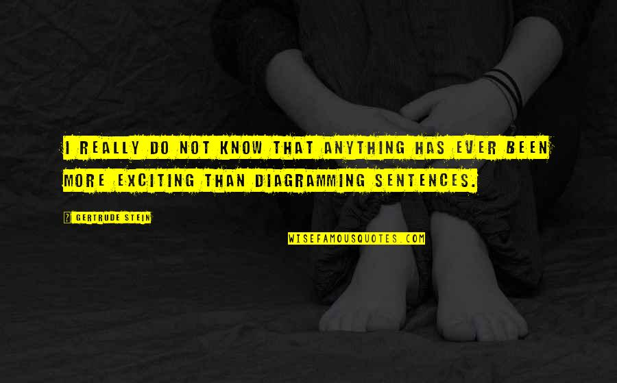 Cheating And Winning Quotes By Gertrude Stein: I really do not know that anything has