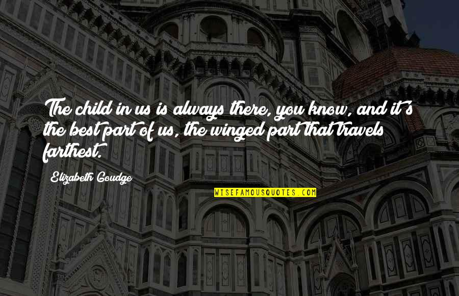 Child In Us Quotes By Elizabeth Goudge: The child in us is always there, you