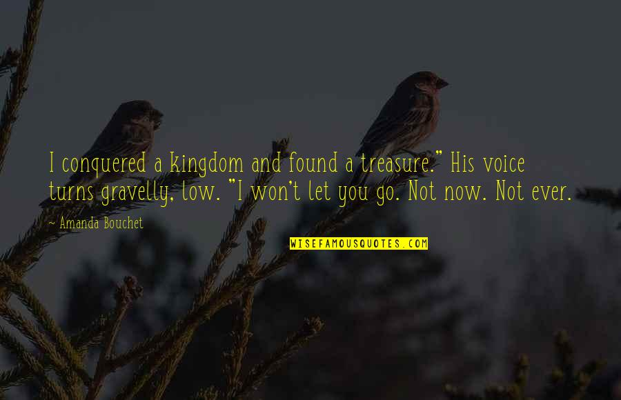 Chronicles Quotes By Amanda Bouchet: I conquered a kingdom and found a treasure.""