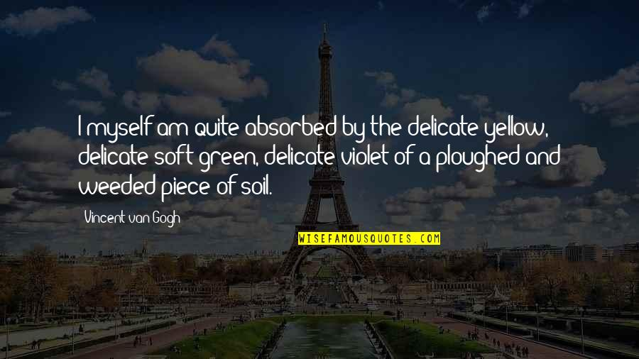 Classic Dj Quotes By Vincent Van Gogh: I myself am quite absorbed by the delicate