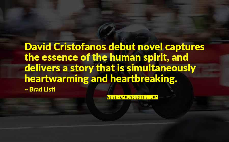 Claude Bristol The Magic Of Believing Quotes By Brad Listi: David Cristofanos debut novel captures the essence of