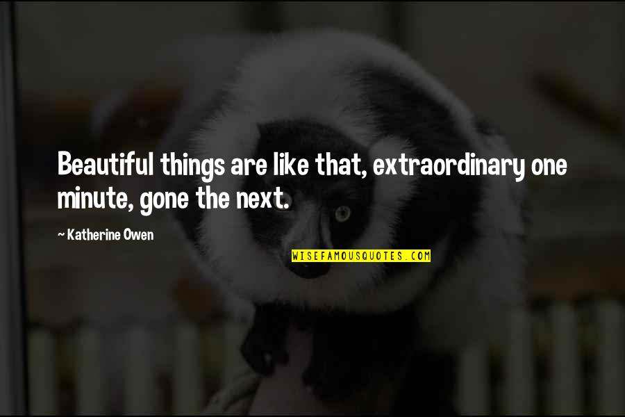 Closure Pinterest Quotes By Katherine Owen: Beautiful things are like that, extraordinary one minute,