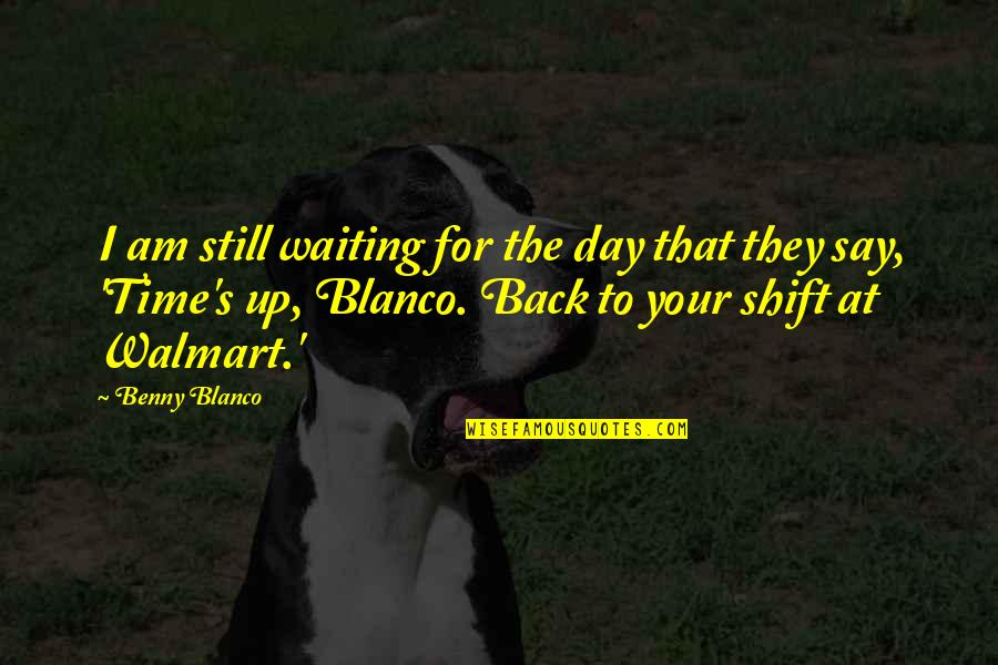 Clutch Bag Quotes By Benny Blanco: I am still waiting for the day that