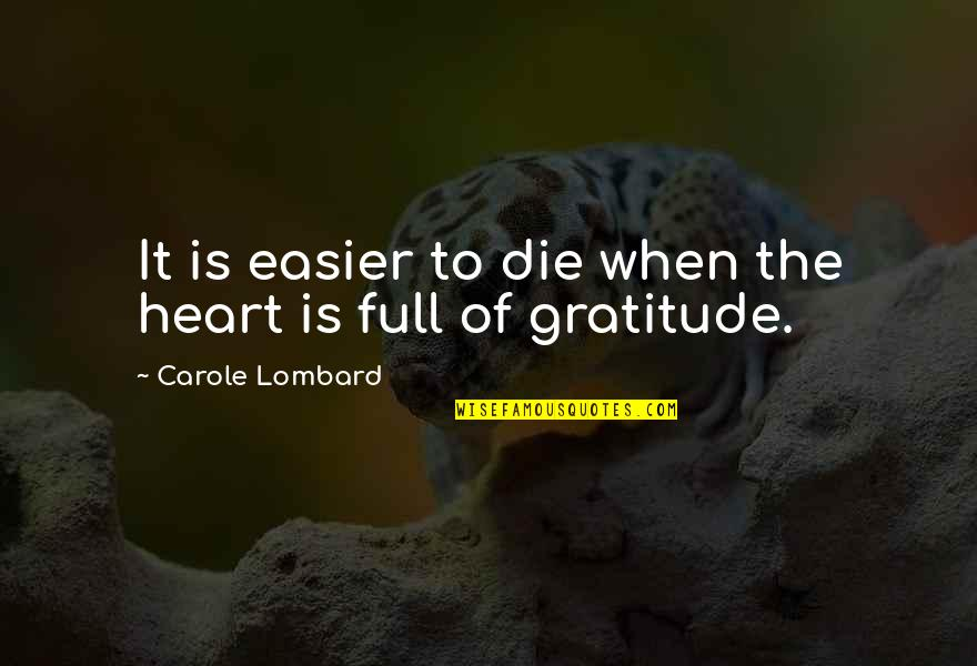 Cnn Money Stock Market Quotes By Carole Lombard: It is easier to die when the heart