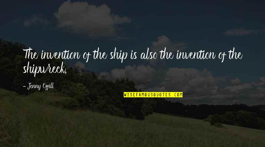 Cnn Money Stock Market Quotes By Jenny Offill: The invention of the ship is also the