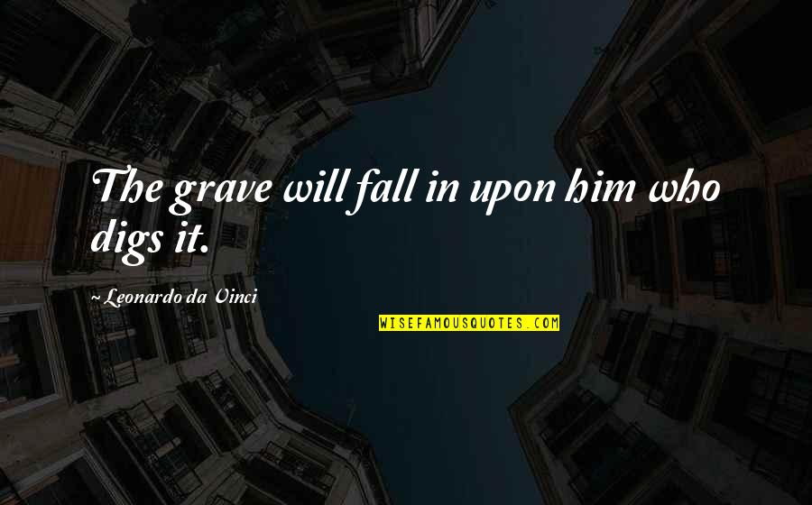 Cnn Money Stock Market Quotes By Leonardo Da Vinci: The grave will fall in upon him who