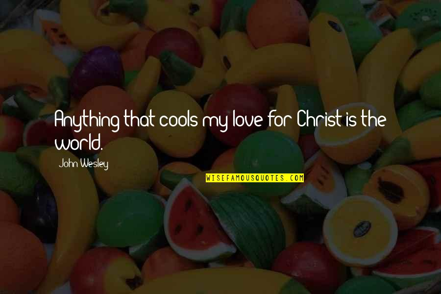 Codeigniter Escape Single Quotes By John Wesley: Anything that cools my love for Christ is