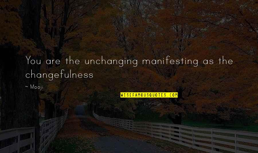 Compare Insurance Company Quotes By Mooji: You are the unchanging manifesting as the changefulness