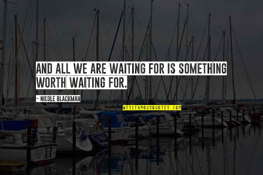 Compare Insurance Company Quotes By Nicole Blackman: And all we are waiting for is something