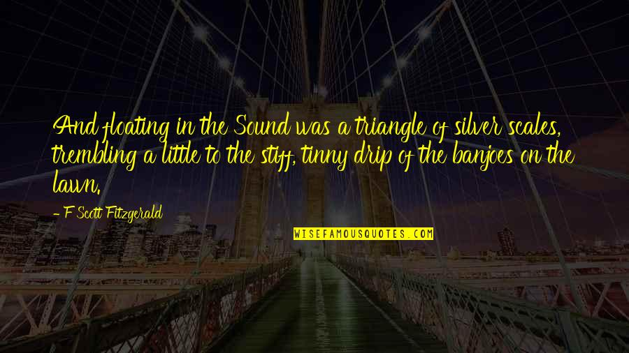 Compare Van Rental Quotes By F Scott Fitzgerald: And floating in the Sound was a triangle
