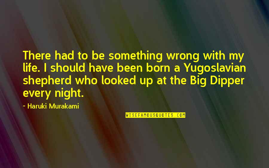 Contentment And Happiness In Life Quotes By Haruki Murakami: There had to be something wrong with my